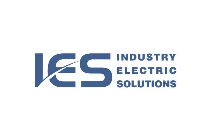 IES - Logo dla firmy z branży elektrycznej
