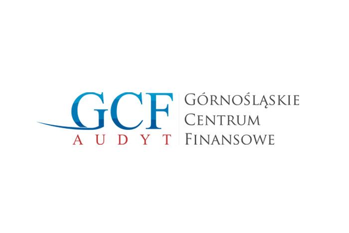 Logo dla firmy finansowej / doradczej. GCF - tworzenie logo