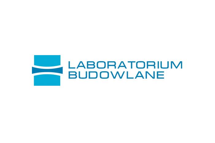 Laboratorium Budowlane - projekt logo dla firmy budowlanej
