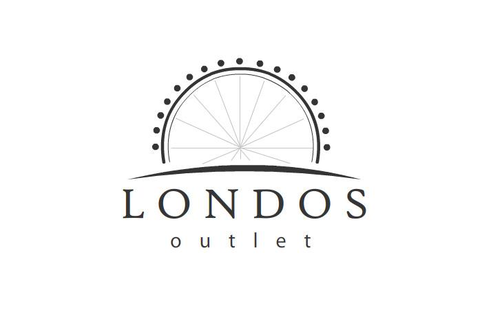 Projekt logo Londons Outlet - logo dla firmy odzieżowej