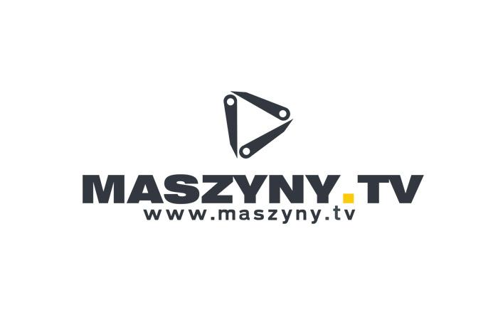 MASZYNY.TV - projekt logo dla kanału filmowego