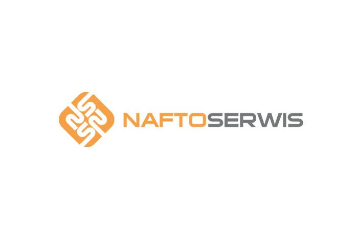 Projekt logo - Naftoserwis - logo dla firmy z branży chemicznej