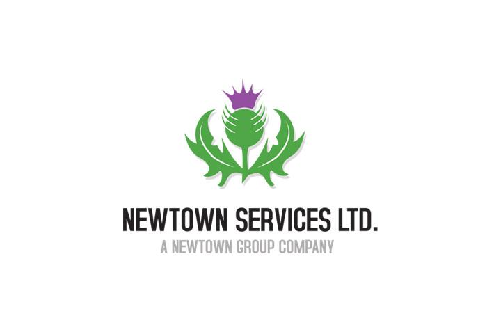 logo dla firmy rekrutacyjnej- Newtown services