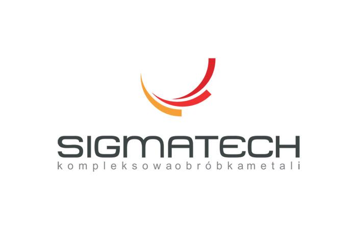 SIGMATECH - logo dla firmy produkcyjnej