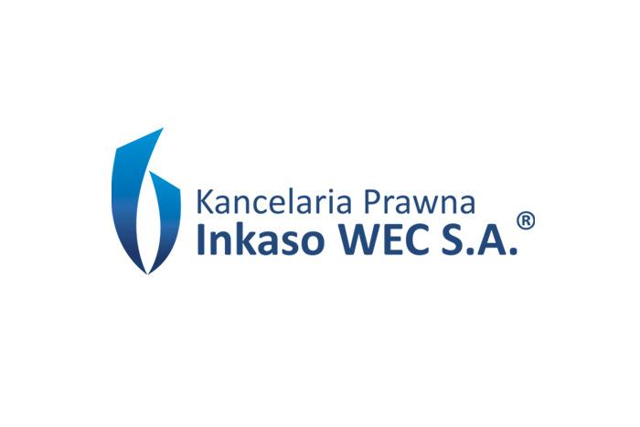 WEC Inkaso logo dla kancelarii prawnej