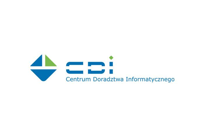 projekt logo - CDI - logo dla firmy informatycznej