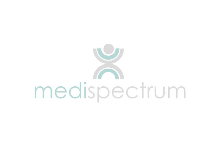 projekt logo - mediaspectrum - logo dla firmy medycznej