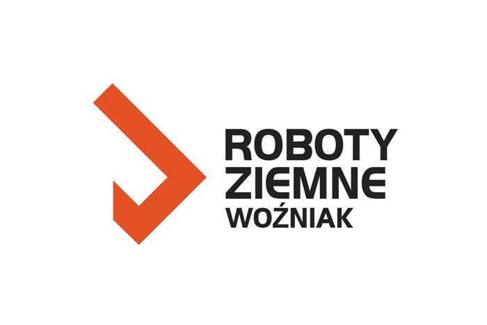 Projekt logo roboty ziemne