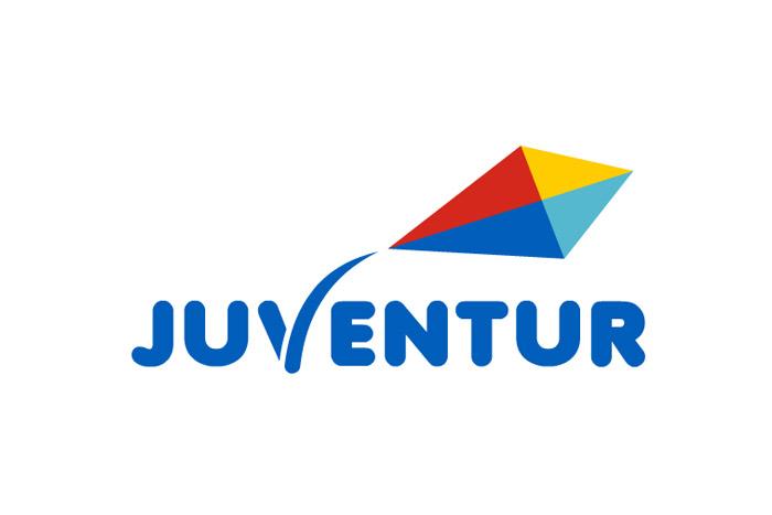 logo dla biura podróży juventur