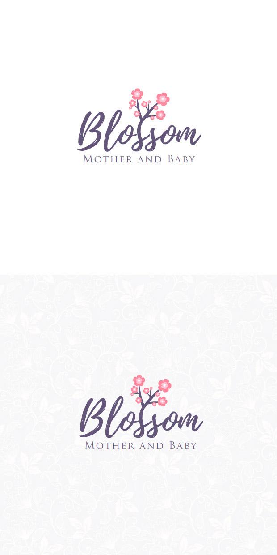 logotyp dla firmy kosmetycznej Blossom