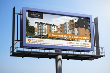 Apartamenty Skrzypka – billboard