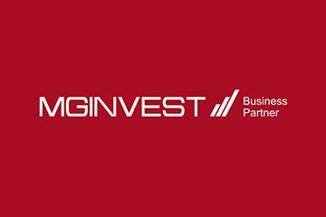 MG INVEST – logo dla firmy inwestycyjnej