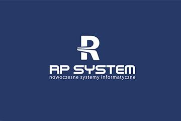 RP SYSTEM – logo firmy informatycznej