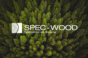 Spec Wood – logo dla tartaku