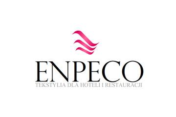 ENPECO / projektowanie logo dla firmy tekstylnej