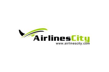 AirliinesCity / tworzenie logo dla firmy turystycznej