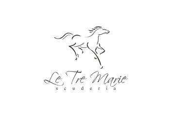 Le Tre Marie / logo dla stajni