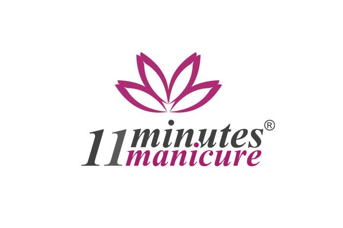 11 minutes manicure - logo dla firmy kosmetycznej