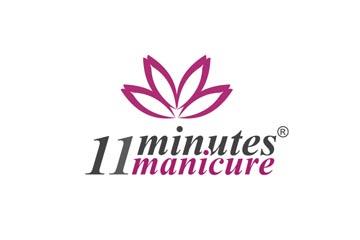 11 minutes manicure – logo dla salonu kosmetycznego