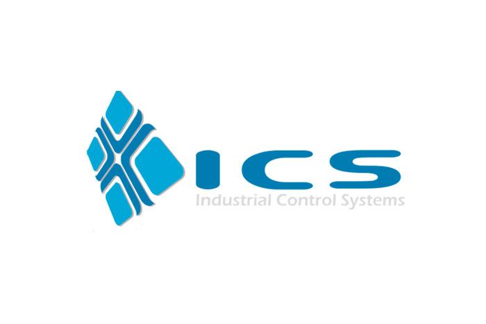 projekt logo - ICS - logo dla firmy elektrycznej i elektronicznej