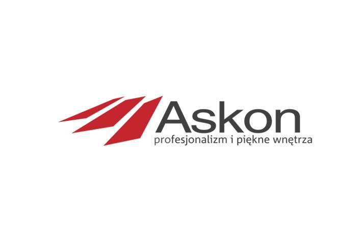 Askon - logo dla sklepu z wyposażeniem wnętrz
