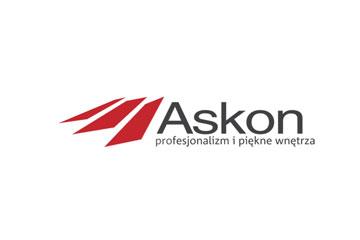 Askon – logo dla firmy z branży wyposażenia wnętrz