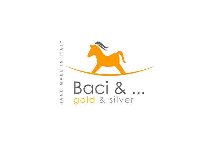 projekt logo - Baci & ... projekt logo dla firmy jubilerskiej