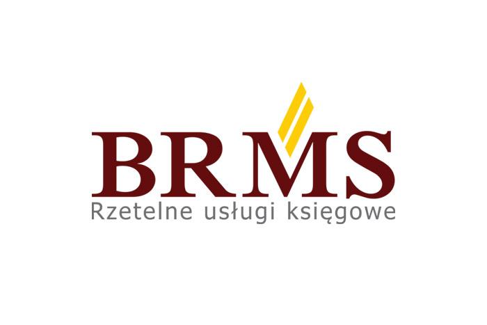 BRMS - logo dla firmy księgowej i finansowej