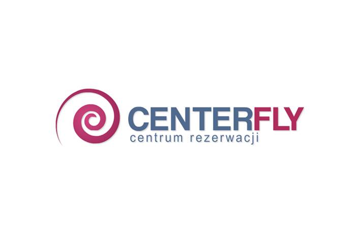Logo dla firmy turystycznej Centerfly
