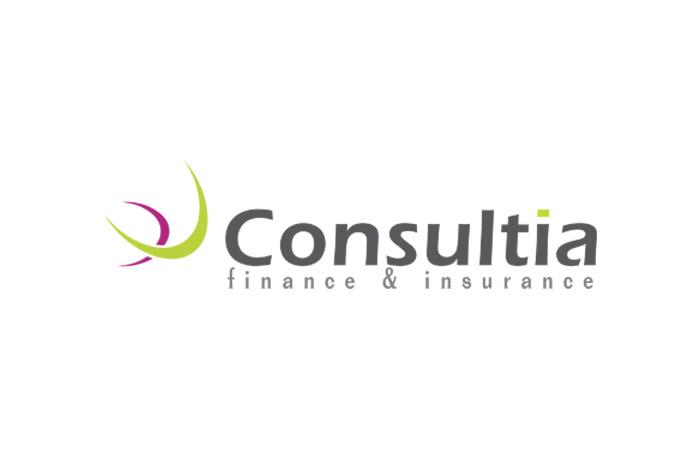 Consultia - projekt logo dla firmy ubezpieczeniowej