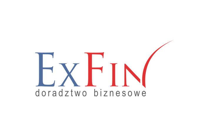 ExFin - tworzenie logo