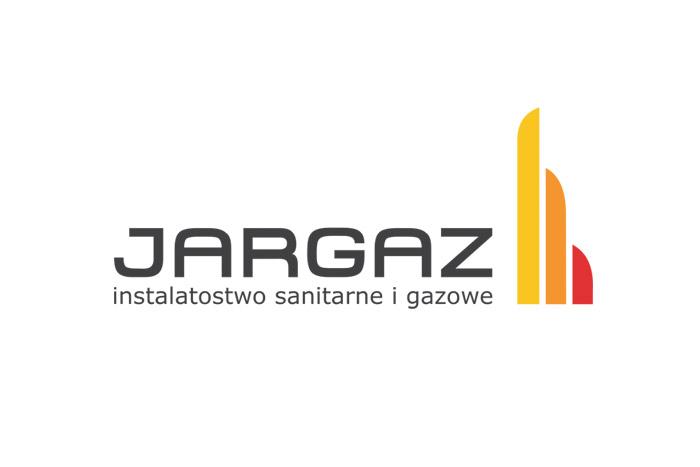 JARGAZ - projekt logo dla firmy przemysłowej