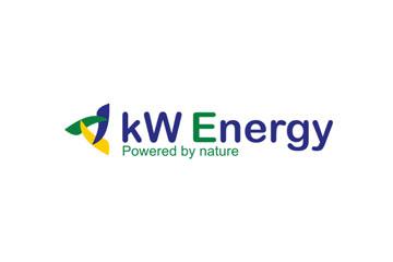 kW Energy – logo dla branży energetycznej