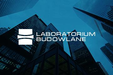 Laboratorium Budowlane – logo dla firmy budowlanej