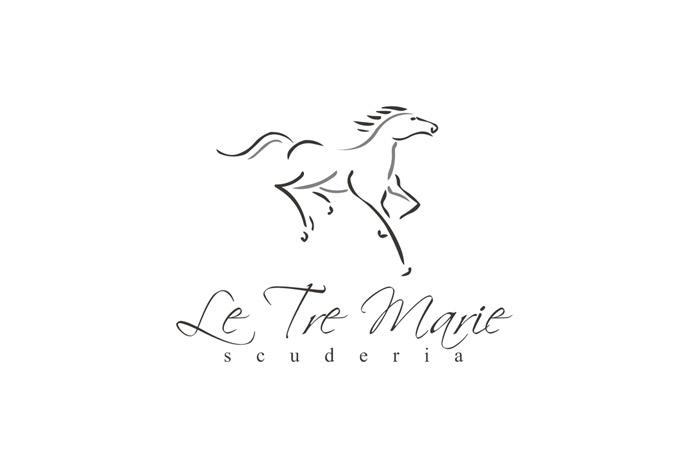 Logo dla stajni Le Tre Marie
