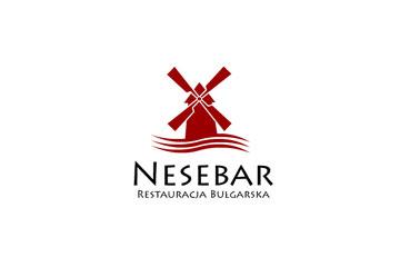 Nesebar – logo dla restauracji/kawiarni
