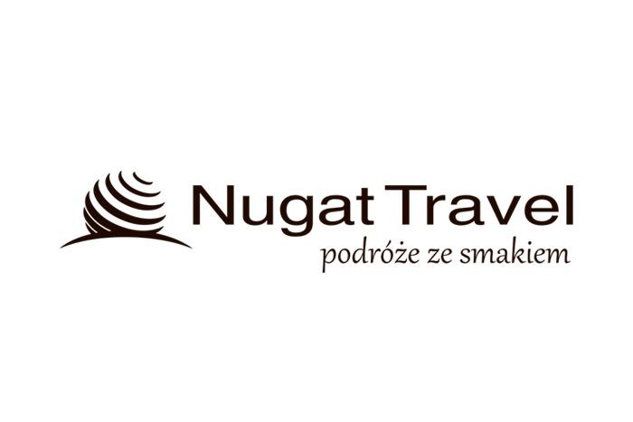 NugatTravel logo dla firmy turystycznej