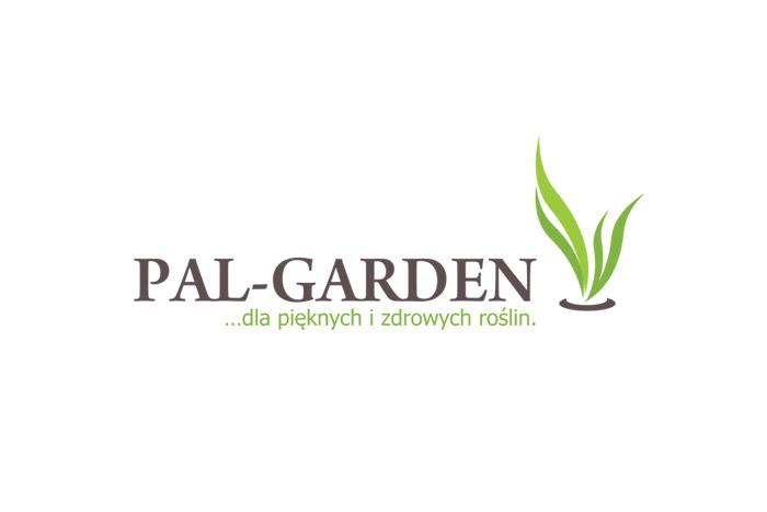 projekt logo PAL-GARDEN - logo dla firmy ogrodniczej