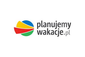 Planujemy Wakacje – logo dla biura podróży