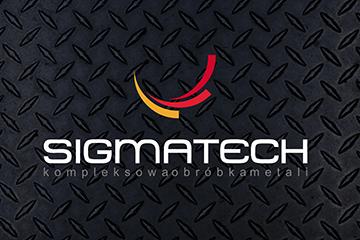 SIGMATECH – logo dla firmy produkcyjnej