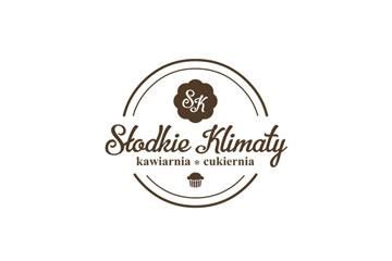 Słodkie Klimaty – logo dla cukierni