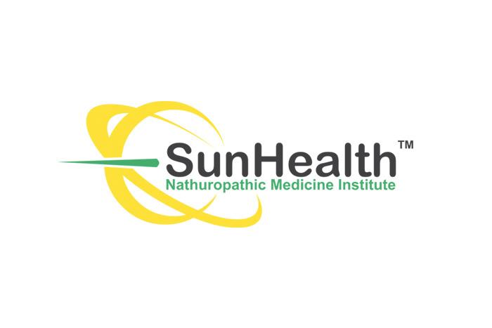 Logo dla firmy medycznej SunHealth