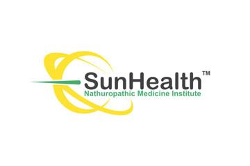 SunHealth – logo dla firmy medycznej