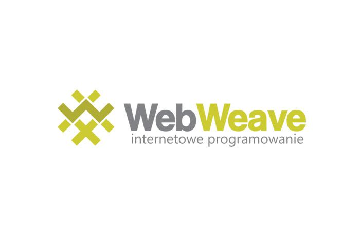 Projekt logo dla firmy informatycznej WebWeave
