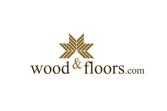 Wood & Floors - projekt logo dla firmy produkcyjnej