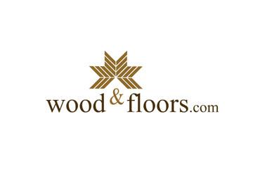 Wood&Floors – logo dla firmy handlowej i montażowej