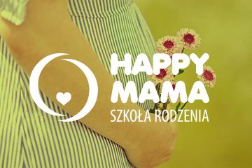 Happy Mama – logo dla szkoły rodzenia