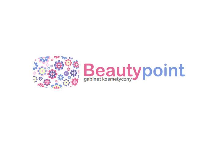 BeautyPoint - projekt logo dla gabinetu kosmetycznego, firmy kosmetycznej