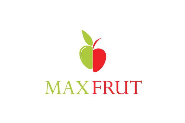 projekt logo - MAXFRUT - logo dla firmy przetwórczej spożywczej