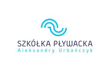 Szkółka pływacka Aleksandry Urbańczyk – logo dla szkółki pływackiej